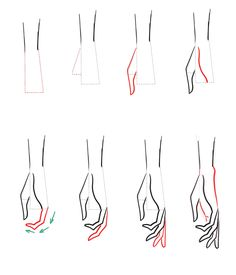 Art Discover How to draw hands -You can find Fashion sketches and more on our website.How to draw hands - Drawing Lessons Drawing Tips Drawing Sketches Drawing Hands Hand Drawing Reference Drawings Of Hands Drawing Models Gesture Drawing Drawing Base Fashion Illustration Sketches, Fashion Sketchbook, Fashion Sketches, Design Illustrations, Fashion Illustration Tutorial, Simple Illustration, Fashion Model Sketch, Croquis Fashion, Sketchbook Ideas