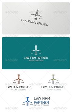 Law Firm Partner Logo Template  #GraphicRiver         Law Firm Partner Logo is highly suitable for law firm, attorney,   legal adviser, law school, law-writer and similar.  Features:  3 Vector Files included: AI, EPS, and CDR   3 Color variations   1 Grayscale Version  1 Black & White Version  Layered     Fonts used:   Cibreo  PT-Sans     If you have any problems with your purchase feel free to contact me using my Profile Page      Please, don't forget to Vote!      Created: 11July13…