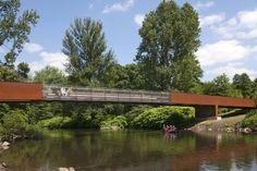 Puente Wupper en Obladen  / Ağırbaş & Wienstroer