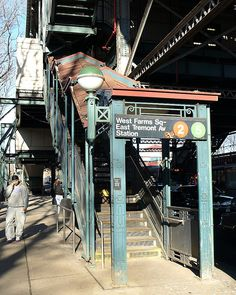West Farms Square - East Tremont Avenue Subway Station, Bronx, New York City