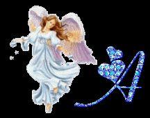 Alfabeto animado de ángel. | Oh my Alfabetos!