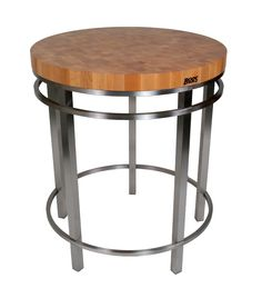 stainless steel kitchen island with butcher block top boos maple amp metropolitan center table quot