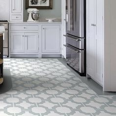 BuyNeisha Crosland for Harvey Maria Luxury Vinyl Floor Tiles, 1.115m² Pack, Eggshell Online at johnlewis.com