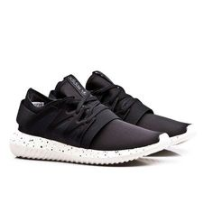 @adidasoriginal TUBULAR NOVA ALL BLACK SNEAKERS UOMO
