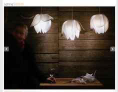 Wonderful 3form Blossoms Over The Bar And Table, Task Lighting, Low Lighting