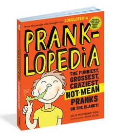 Your little practical joker will love this fun book that features over 70 pranks and practical jokes to pull on friends.
