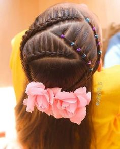 The Beauty of Braided Hairstyles Easy Little Girl Hairstyles, Girls Natural Hairstyles, Haircuts For Curly Hair, Cute Hairstyles, Braided Hairstyles, Curly Hair Styles, Jasmine Hair, Brown Curly Hair, Hair Due