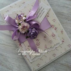Birthday Card, Friend, Wife, Daughter, Partner, Personalized, Handmade by thelavenderblue on Etsy