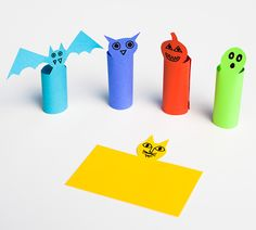Easy halloween DIY: Silly and spooky finger puppets!