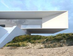 House | Project by Roman Vlasov, via Behance