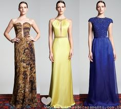 Madrinhas de casamento: Lookbook: Fruta Cor ( modelos variados de vestidos de festa!)