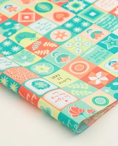 cotton 1yard 44 x 36 inches 47246 by cottonholic on Etsy, $11.80