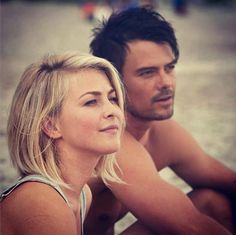 I do love Josh Duhamel and Julianne Houghes' hair.