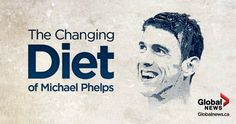 Rio 2016: how michael phelps' #diet changed in the past 8 years