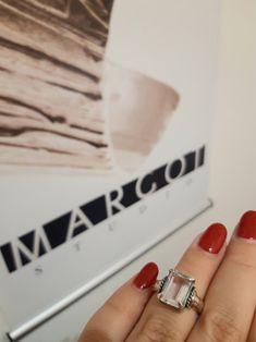 #pierścionek #srebro #kryształgórski #biżuteriaartystyczna #modnabiżuteria #margotstudio Designer Jewellery, Jewelry Design, Rings, Ring, Jewelry Rings