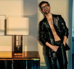 Celebrity stylist Brad Goreski is in the spotlight as he poses for the lens of photographer Austin Hargrave. Goreski appears in the September 2015 issue of… Brad Goreski, Adam Gallagher, Style Guides, Attitude, Floral Tops, Stylists, Photoshoot, Poses, Celebrities