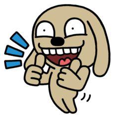 Trọn bộ sticker Chó Nâu siêu bựa - Vê Lốc