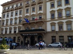 This Hotel was Amazing and our Dreamtrip was here. November 2013, Florence Italy, Outdoor Seating, Street View, Amazing