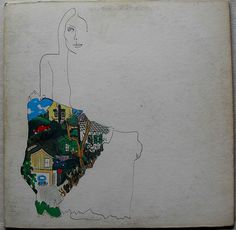 JONI MITCHELL 1970 Ladies Of The Canyon LP record album illustration cover art painting music 1970s by Christian Montone, via Flickr