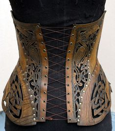 Where armor meets corset
