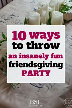 10 Best Friendsgiving Ideas For An Insanely Fun Party such fun ideas! My favorite friendsgiving party idea was the friendsgiving invitation tip she gavesuch fun ideas! My favorite friendsgiving party idea was the friendsgiving invitation tip she gave Friends Thanksgiving, Thanksgiving Parties, Thanksgiving Games For Adults, Hosting Thanksgiving, Sophia Lee, Halloween Party Appetizers, Party Entertainment, Best Part Of Me, Holiday Fun