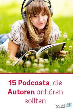 ♫ 15 #Podcasts, die jeder Self-Publisher anhören sollte http://www.epubli.de/blog/15-podcasts-fuer-autoren #epubli #schreibtipps #inspiration
