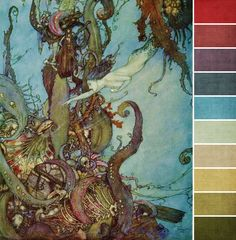 July Monthly Challenge Color Palette