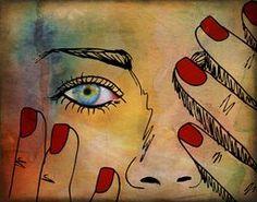 Eye See via @terryfleckney #watercolor #eyes #wallart #buyart