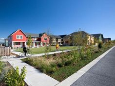 Swale and pocket park at the High Point development in Seattle, WA. Click image for link to full profile and visit the slowottawa.ca boards >> https://www.pinterest.com/slowottawa/