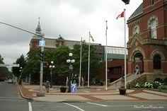 Downtown Fredericton, New Brunswick