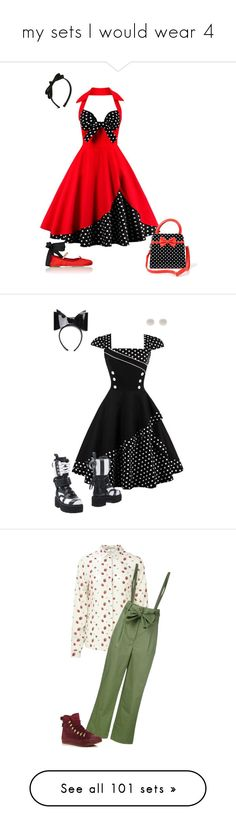 """""""my sets I would wear 4"""" by dryingink ❤ liked on Polyvore featuring Miu Miu, L. Erickson, MSGM, Kim Rogers, Monki, Sugarhill Boutique, SEMICOUTURE, Converse, Chicwish and Boutique Moschino"""