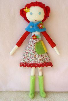 Břichopas about toys: Panenky / Dolls by Matilde Beldroega