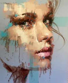 Jimmy Law is a self-taught artist and painter of expressive portraits and expressive nudes and resides in Cape Town, South Africa. Jimmy Law, Pintura Graffiti, Abstract Portrait Painting, Painting Canvas, Modern Portraits, Abstract Faces, Abstract Art, Arte Pop, Fine Art