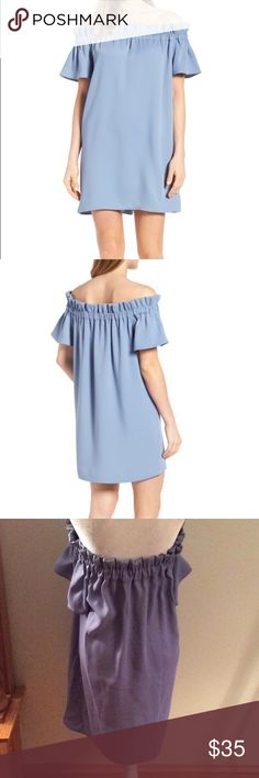 Pleione off the shoulder dress Cute dress. Not lined but material is substantial Pleione Dresses Mini