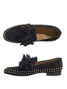 Spike and tassel loafers | Christian Louboutin | MATCHESFASHIO...