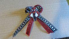 Mandalorian hair clip by mommymisfit on Etsy, $4.00
