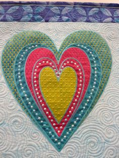 Machine quilting and embroidery by Sarah Vedeler, photo by Lisabrod, Saint-Marie-aux-Mines 2012