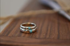 Simple wedding rings, wow. There are really nice. Only I would want white gold!