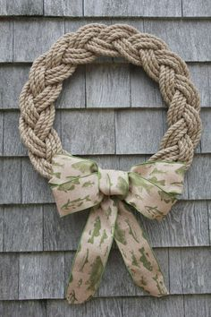 cakes beach Shop Hand Made Nautical Gifts — First Harbor Company Rope Crafts, Fall Crafts, Christmas Crafts, Christmas Decorations, Nautical Gifts, Nautical Wreath, Macrame Patterns, Handmade Home, Handmade Gifts