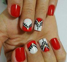 Nail Art, Academia, Nails, Mary, Beauty, Google, Enamels, Work Nails, Stickers