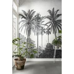 foto behang karwei - Home Said Wallpaper, Accent Wallpaper, Room Wallpaper, Photo Wallpaper, Art Mural, Mural Painting, Photo Mural, Big Girl Rooms, Home Staging