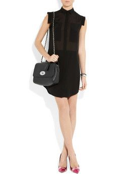 MULBERRY Medium Lily textured-leather shoulder bag $1,200