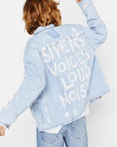 45905402f01 Dare to wear the latest men s jackets from Bershka this Denim