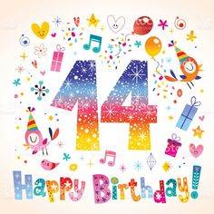 Happy Birthday 14 Years Teen Greeting Card