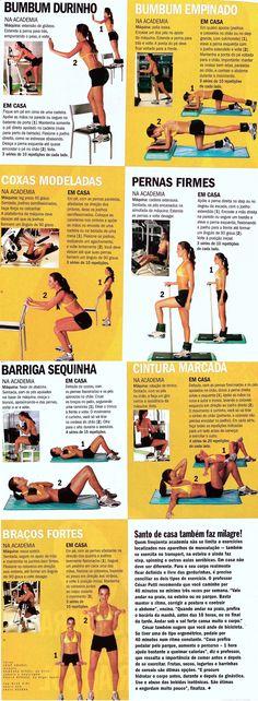 gym at home - academia em casa