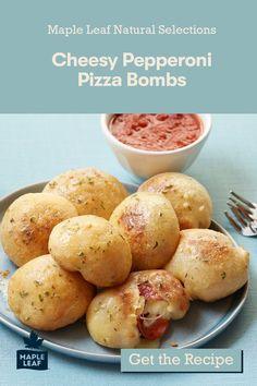 Pepperoni Pizza Bombs, Taste Buds, Natural Selection, Preserves, Baked Potato, Arancini, Potatoes, Snacks, Vegetables