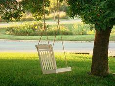silla columpio -exteriores: eco-diseño