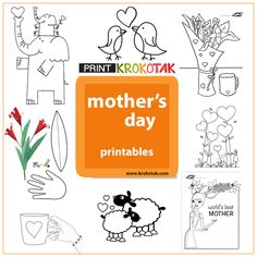 Mother's Day Printables for Kids