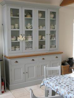 Plain English Glazed Dresser Unit