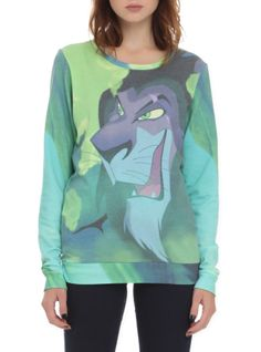 Disney The Lion King Scar Girls Pullover Top | Hot Topic